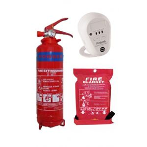 Fire & Carbon Monoxide Safety Pack